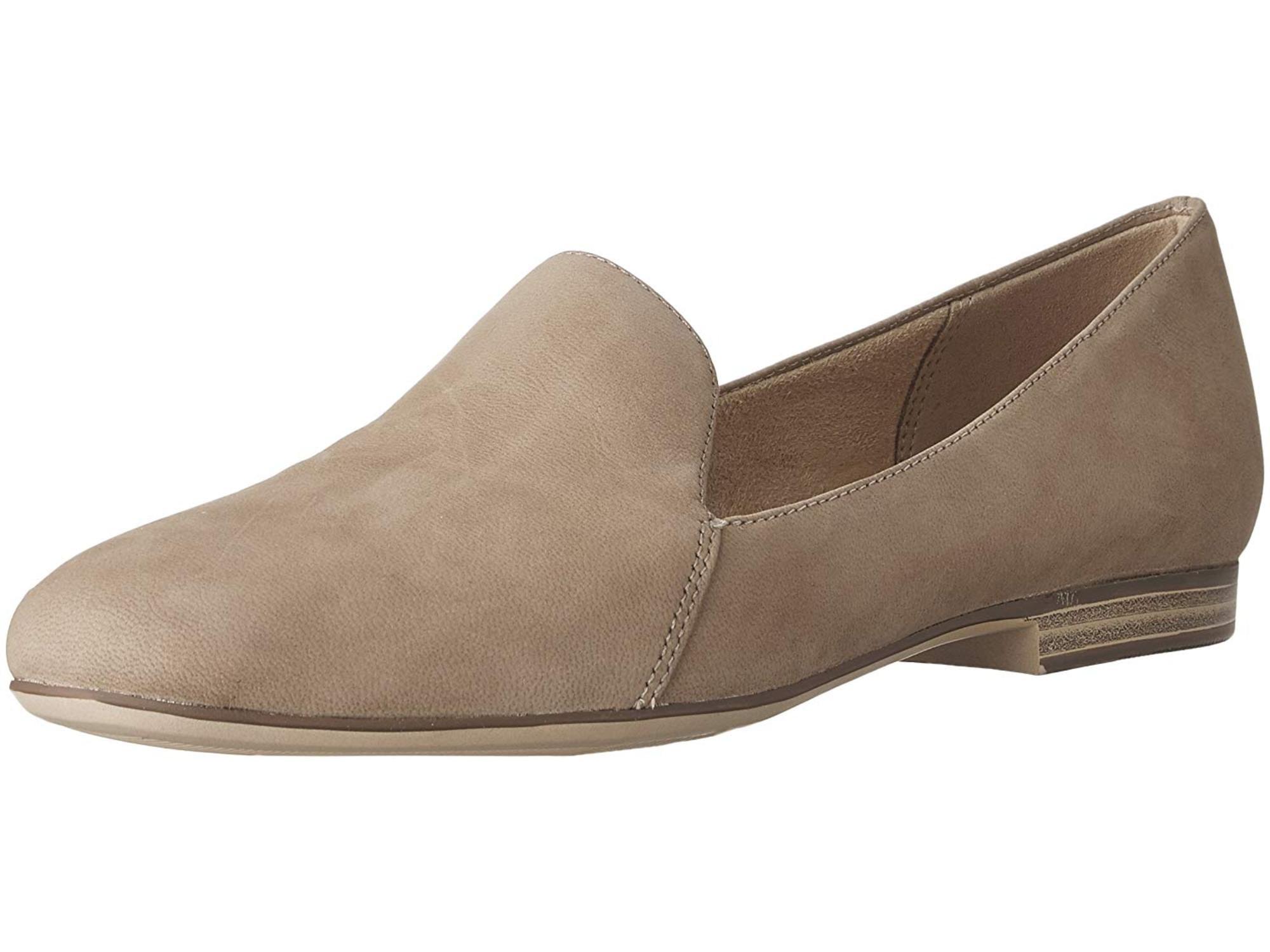 4e9694151d4 Naturalizer - Naturalizer Womens Emiline Leather Almond Toe Loafers -  Walmart.com