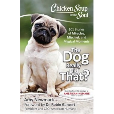 Chicken Soup For The Soul The Dog Really Did That   101 Stories Of Miracles  Mischief  And Magical Moments