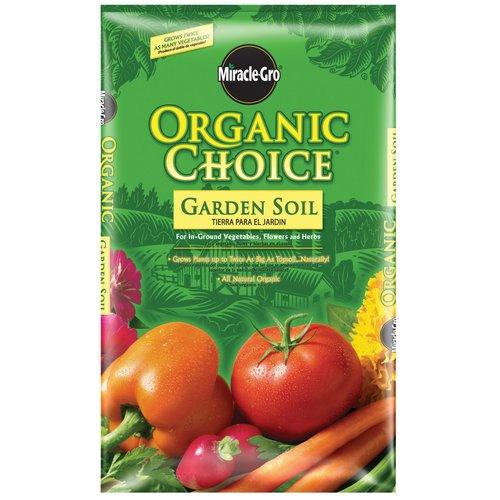 Miracle-Gro Organic Choice Garden Soil