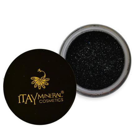 Itay Mineral Cosmetics Eye Shadow Glitter      Black Diamond   G15