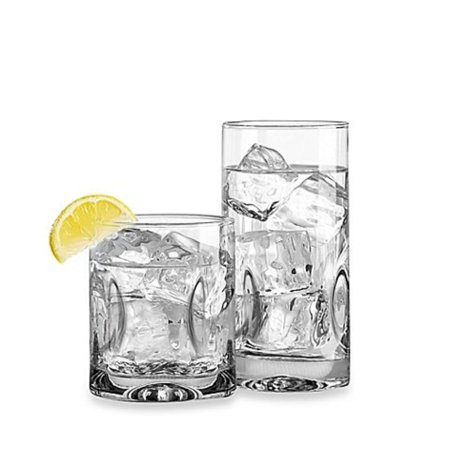 Impressions 16-Piece Glassware Set, Stylish Glass, Perfect for Party and All Purpose Occassion Use (1) By Dailyware