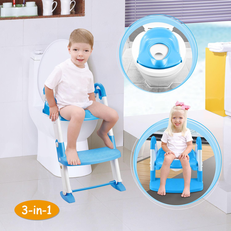 Imountek Portable 3 In 1 Kids Toddlers Potty Training Seat