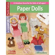 Leisure Arts Paper Dolls Cross Stitch Bk
