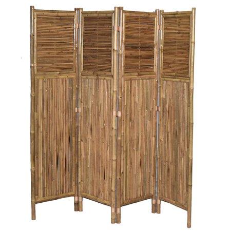 Bamboo54 71 39 39 X 72 39 39 Screen 4 Panel Room Divider