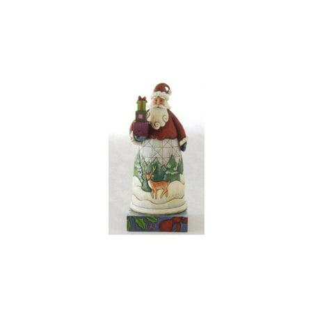jim shore santa claus figure w/ gifts ()