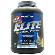 Dymatize  100% Whey Protein, Cookies & Cream, 5 LB
