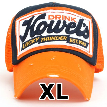 5079391730f ililily Howels Distressed Vintage Embroidery Baseball Cap Snapback Trucker  Hat