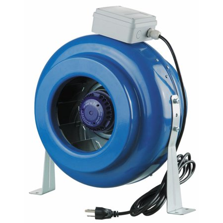 "Metal Centrifugal In-Line Ventilation Fan 10"" Duct"