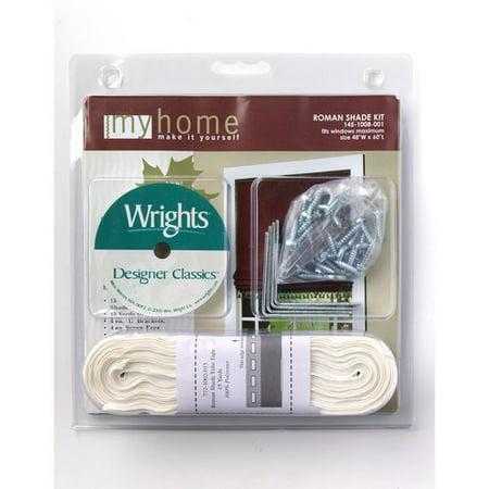 Wright S Medium Roman Shade Kit Walmart Com