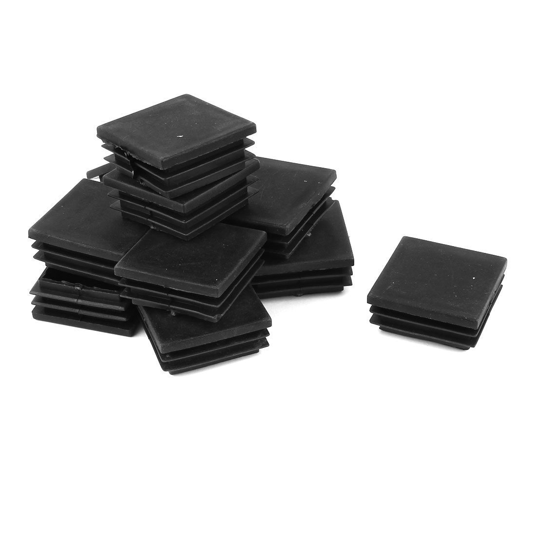 Plastic Square 45mm X 45mm Antislip Chair Foot Cover Table