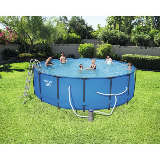 Bestway Steel Pro Max 18 X 48 Quot Above Ground Swimming Pool