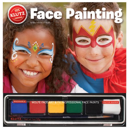 Klutz Face Painting Book Set