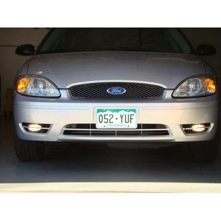 New 2004 2005 2006 2007 Ford Taurus 6000K Fog Lamps Driving Lights Kit ()