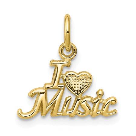 Vistar 10K Talking   I Love Music Charm  Best Quality Free Gift Box