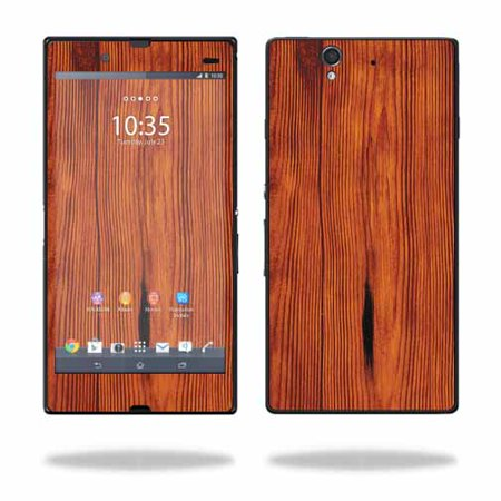 Mightyskins Protective Vinyl Skin Decal Cover for Sony Xperia Z 4G LTE T-Mobile wrap sticker skins Knotty Wood](sony xperia ion lte price)