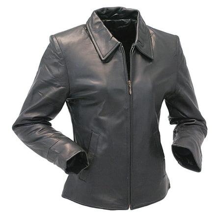 New Zealand Lambskin Leather Coat for Women #L230K