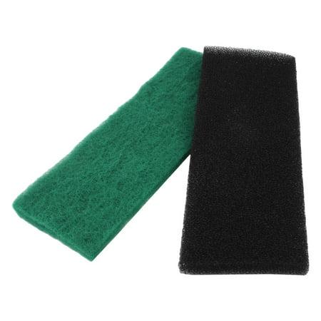 Black Green Reusable Sponge Filter Fresh Water Aquarium Filter 12.6