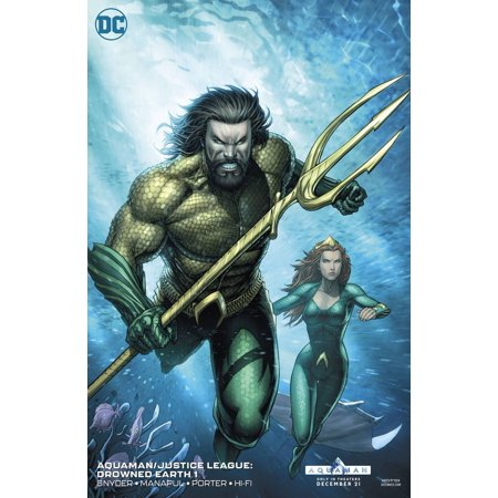 DC Aquaman #1 Justice League Drowned Earth [Frank Cho Variant Cover]