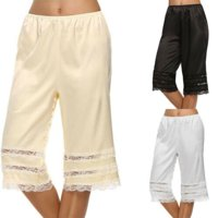 Pudcoco Women Lace Safety Short Pants Skirt Under Briefs Shorts Lady Slips Ice Sil Home