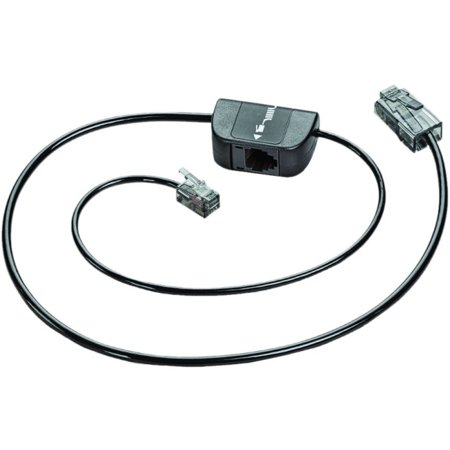 plantronics telephone interface cable connects your. Black Bedroom Furniture Sets. Home Design Ideas