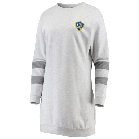 LA Galaxy ZooZatz Women's Sweatshirt Dress - Gray