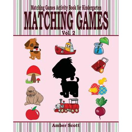 - Matching Games ( Matching Games Activity Book for Kindergarten) - Vol. 2