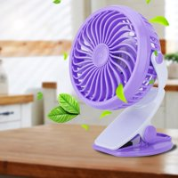 USB Mini Desk Desktop Personal Cooling Fan Super Quiet With Clip for Home Office Dorm , Desktop Fan, USB Desk Cooling Fan