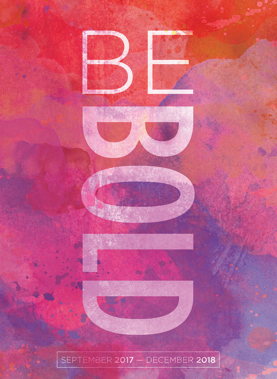 2018 Be Bold Monthly Planner by TF Publishing