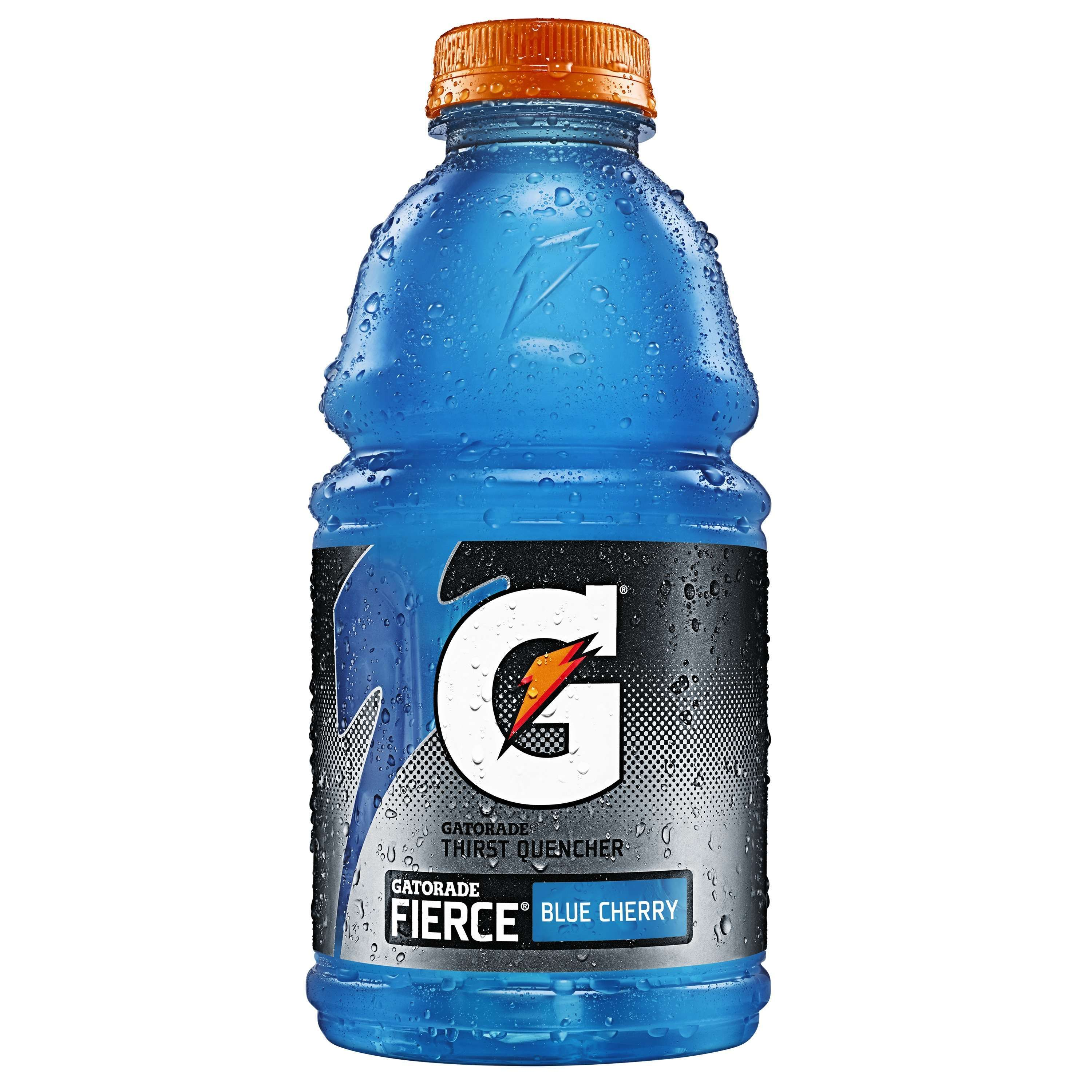 Gatorade Thirst Quencher Fierce Blue Cherry Drink, 32 Fl. Oz.