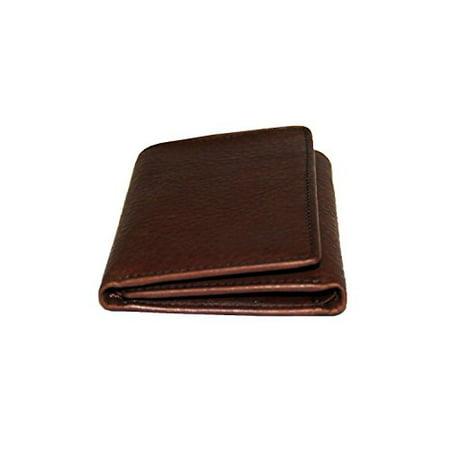 Osgoode Marley Cashmere RFID Blocking Mens Tri-Fold Leather Wallet (One Size, Espresso) ()