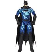 Batman 12-inch Bat-Tech Tactical Action Figure (Blue Suit), Kids Toys for Boys Aged 3 and up