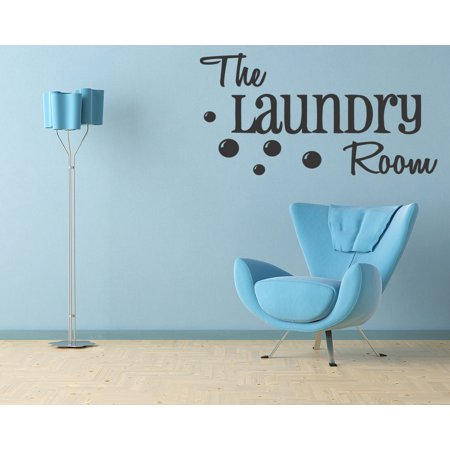 (The Laundry Room Vinyl Decal Wall Quote Home Decor Lettering Sticker Art A54)