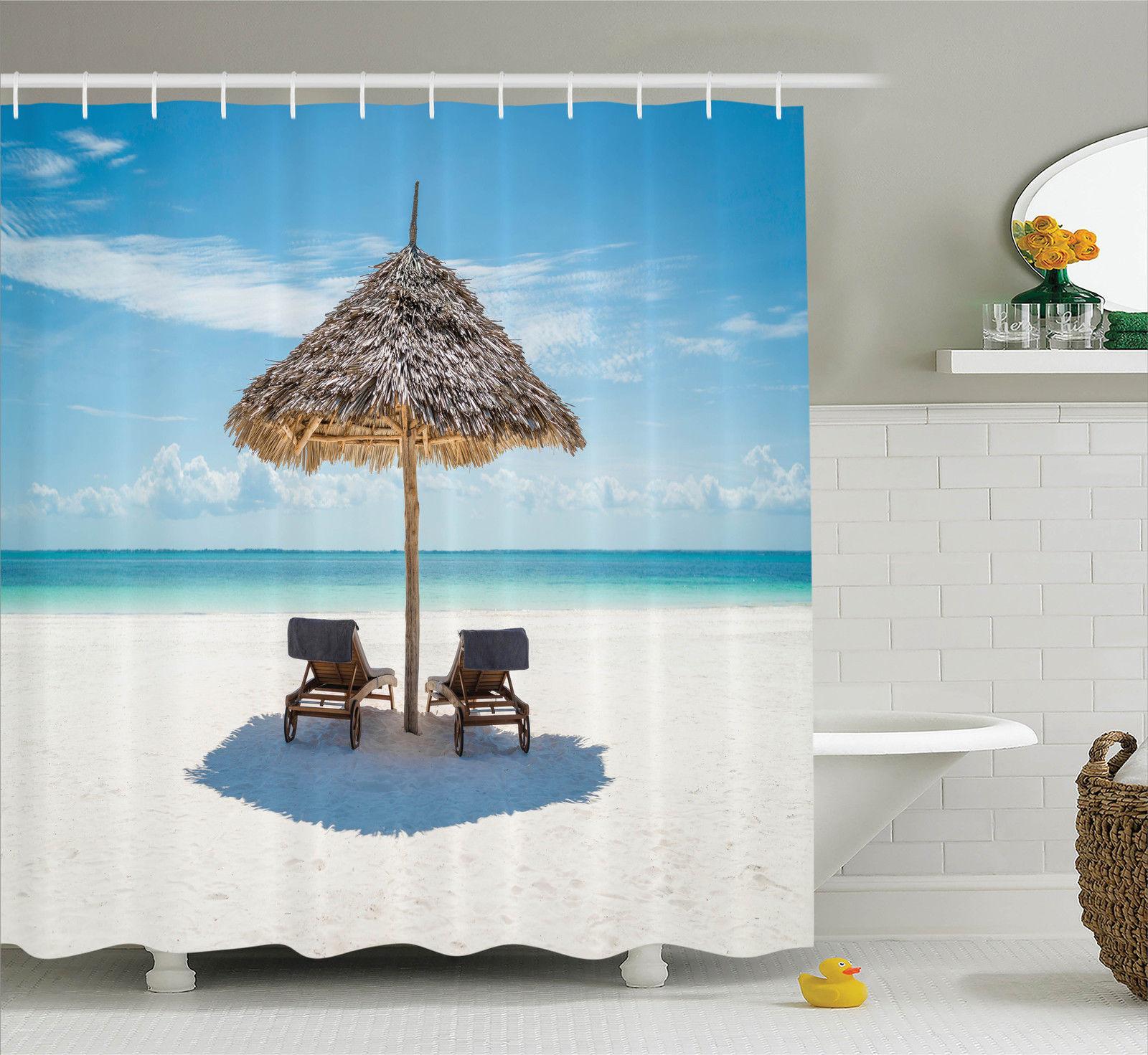 Seaside Decor  Wooden Sun Loungers Facing The Indian Ocea...