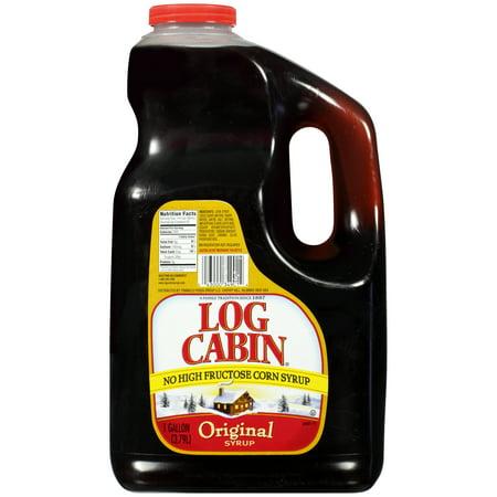 4 PACKS : Log Cabin Pancake Syrup 1 Gal
