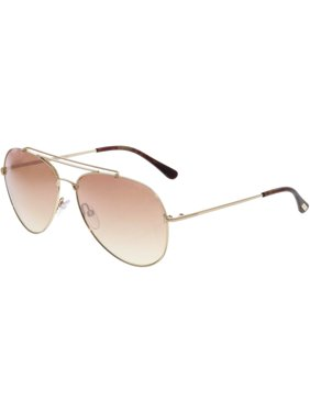 254c55f51c Product Image Tom Ford Gradient Indiana FT0497-18B-58 Silver Aviator  Sunglasses