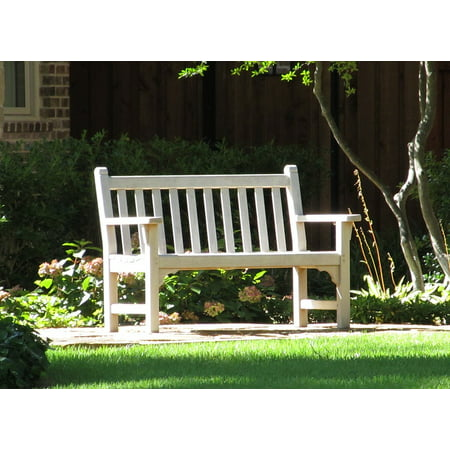 LAMINATED POSTER Outdoor Sit Bench Rest Park Bench Seat Park Poster Print 24 x 36 ()