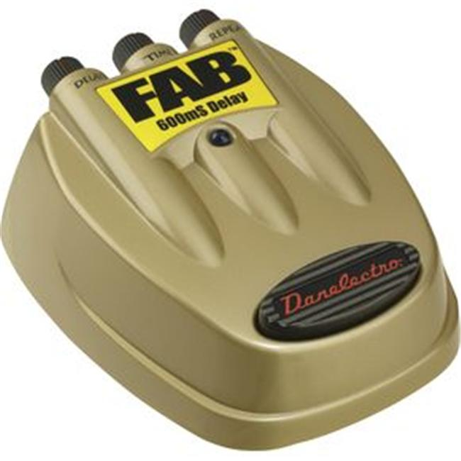 Danelectro D8 Fab Delay Guitar Effects Pedal by Danelectro