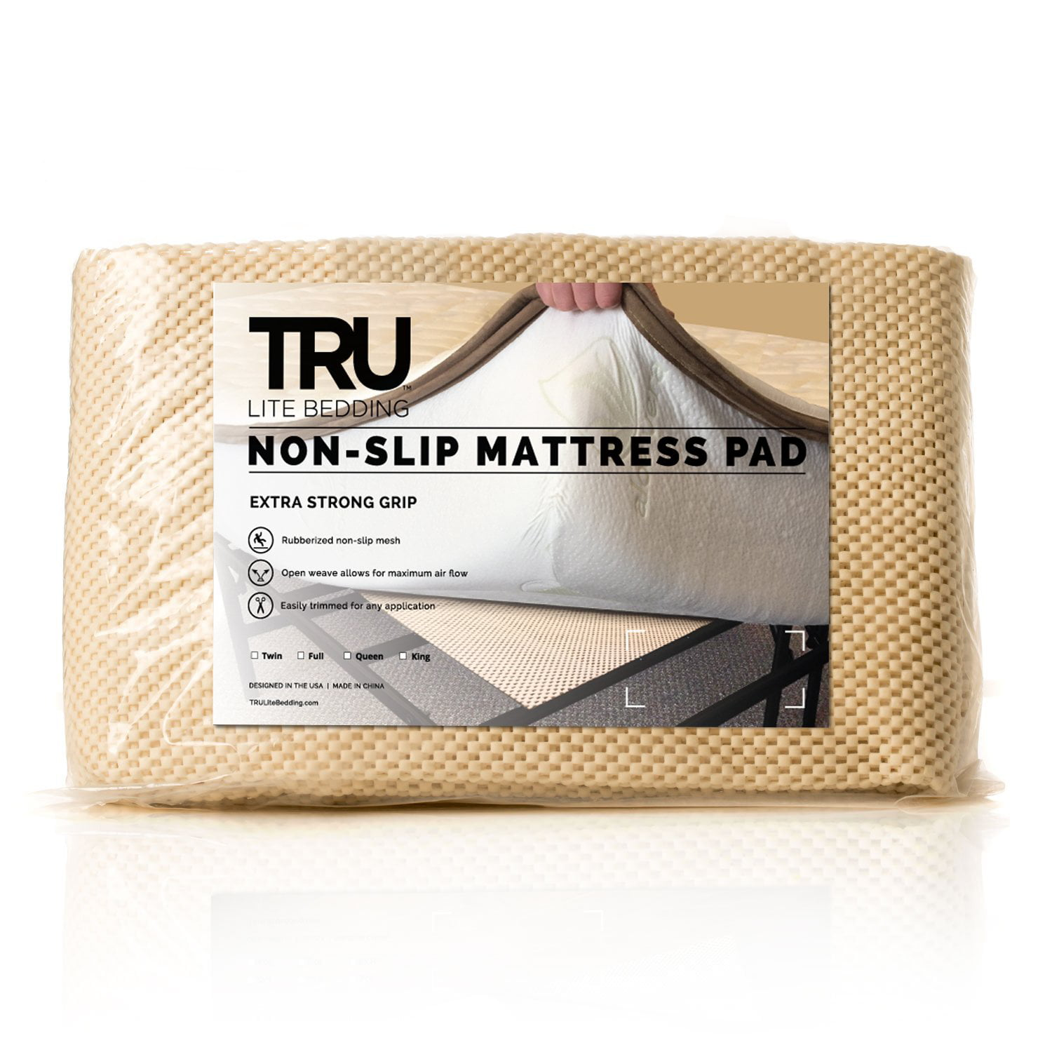 Quot Extra Strong Non Slip Mattress Grip Pad Keeps All
