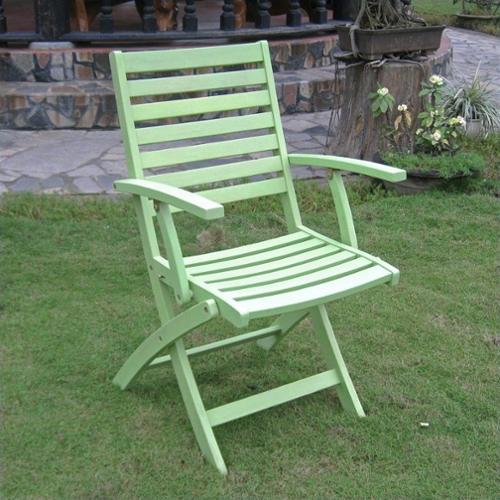 International Caravan Royal Fiji Set of 2 Patio Chair in Mint Green