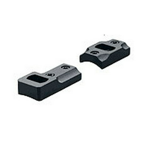 Leupold 2 Piece Dual Dovetail Optic Base Winchester 70 (Post-64 Long Action and Short Action), Reversible Front Matte