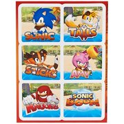 Sonic Boom Sticker Sheets (4)