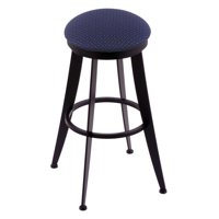 Holland Bar Stool Laser 30 in. Swivel Counter Stool - Black Wrinkle