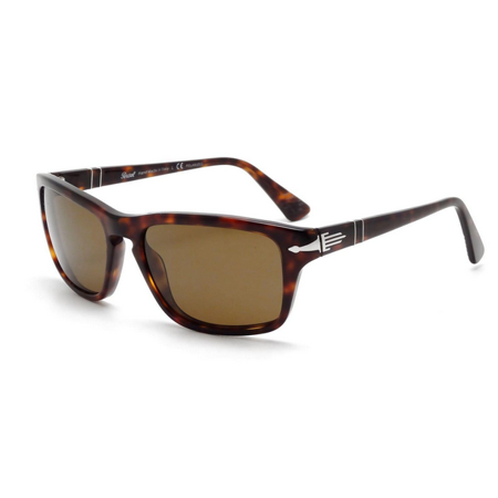c8c67b0d41088 Persol - Persol Sunglasses PO3074   Frame  Havana Lens  Crystal Brown  Polarized (58mm) - Walmart.com