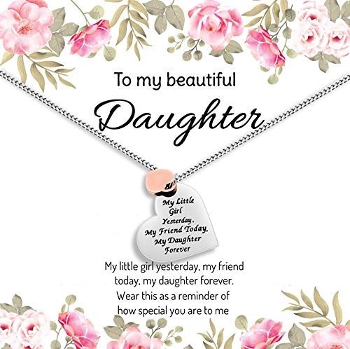 daughter birthday gift Gift For My daughter To my beautiful daughter Daughter Necklace Father to daughter
