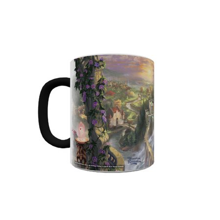 Trend Setters Beauty and the Beast Falling in Love Heat Changing Morphing Mug