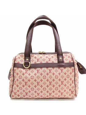 4b6dbf48d3a1 Product Image Josephine Monogram Mini Lin 868518 Burgundy Canvas Satchel. Louis  Vuitton