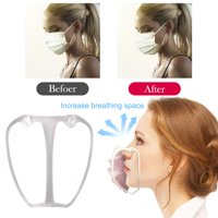 10pcs 3D Mask Bracket Mask Accessories Breathing Smoothly Cool Face Mask Rack Breathable Mask Respirator Supplies