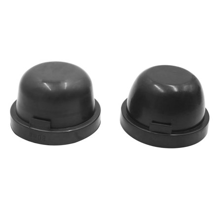 2pcs 80mm Rubber Waterproof Car  HID Headlight Dust Cover Seal Cap Housing