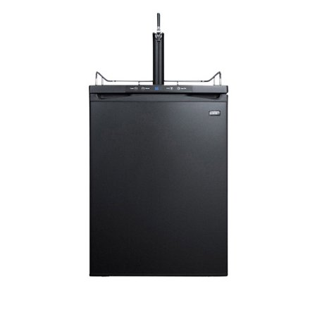 - Summit SBC635MBI 24in Wide 6 Cu. Ft. Single Tap Built-In Kegerator with Digital Controls