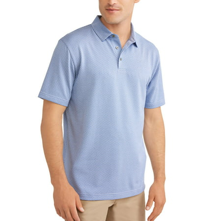 Ben Hogan Mens performance short sleeve textured polo shirt